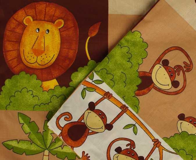 Oblie�ky do detskej postie�ky Zoo hned�