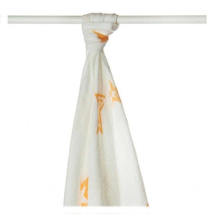 Bambusov� osu�ka 90x100cm Orange Stars