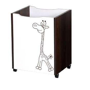Dreven� box na hra�ky Safari �irafa