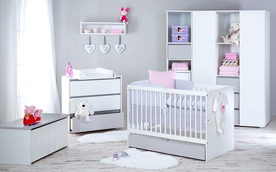 Detsk� izba Dalia s postie�kou 120x60 cm siv�