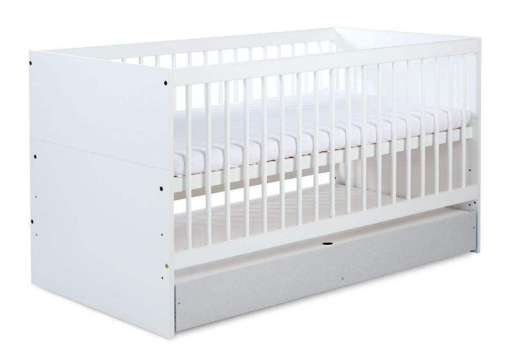 Detsk� postie�ka so z�suvkou DALIA 140x70 cm siva