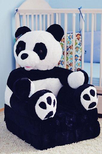 Ply�ov� k�eslo panda