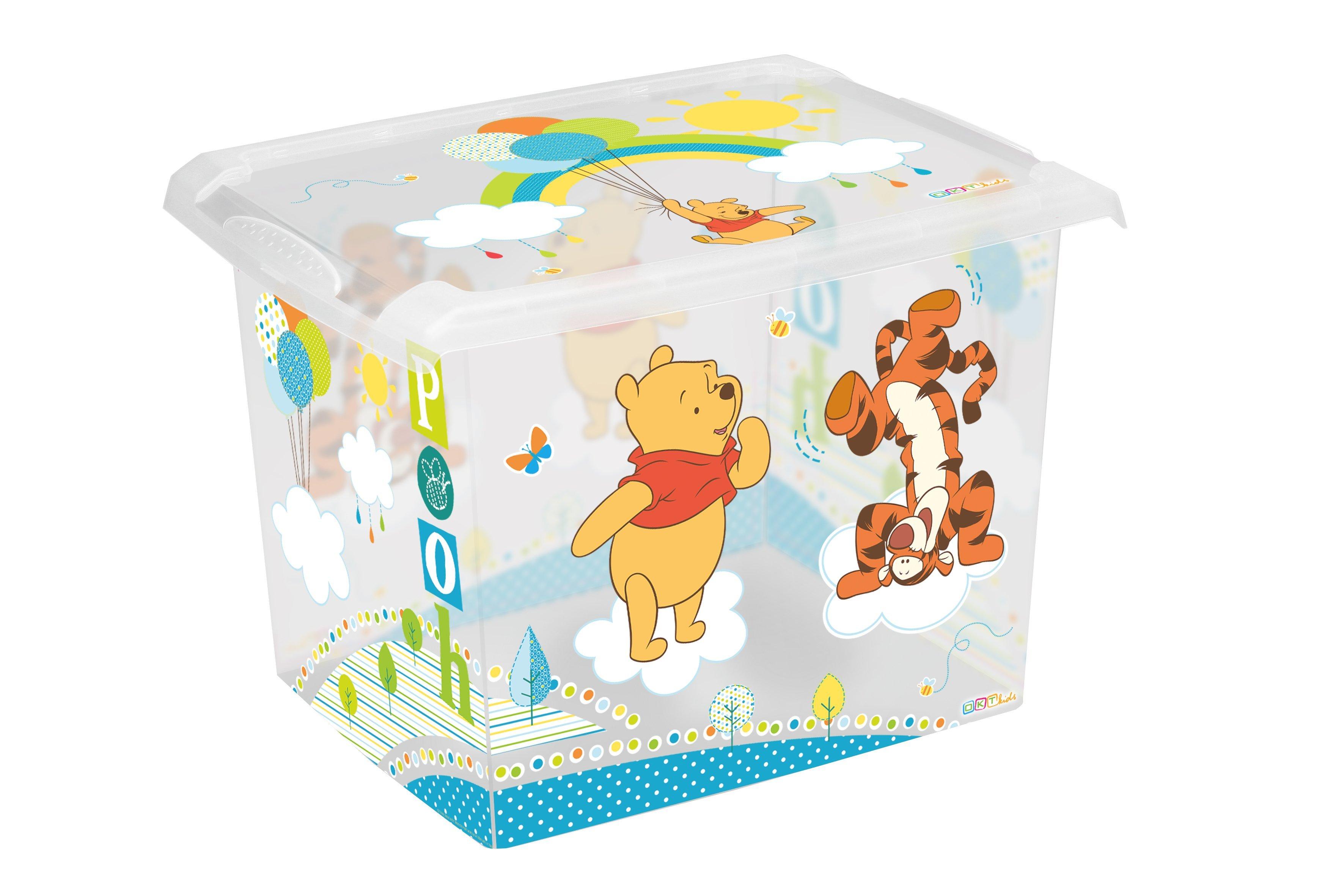 �lo�n� box na hra�ky Fashion-Box Medved�k P� 20 litrov