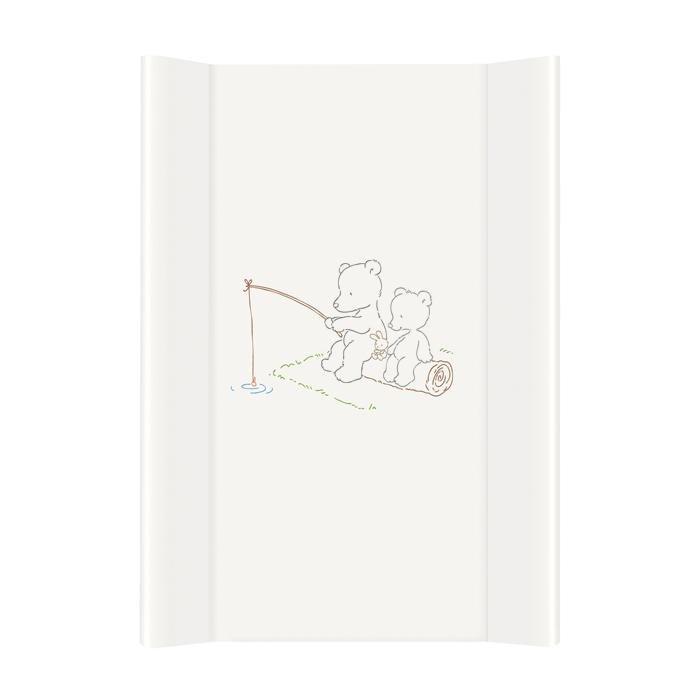 Preba�ovacia podlo�ka tvrd� Papa bear biela zdvihnut� okraj 50x70 cm