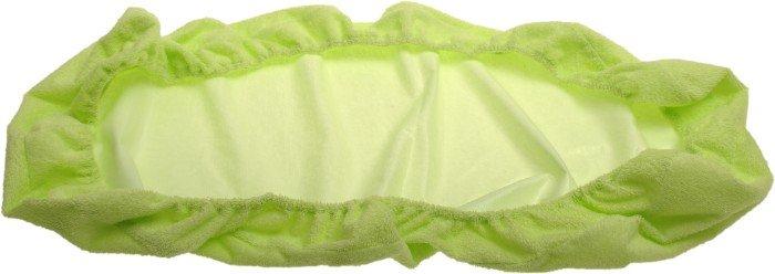 Nepriepustn� frot� plachta zelen� 90x220cm