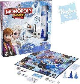 HASBRO Hra Monopoly Junior FROZEN (�adov� Kr�ovstvo) * SPOLO�ENSK� HRY *
