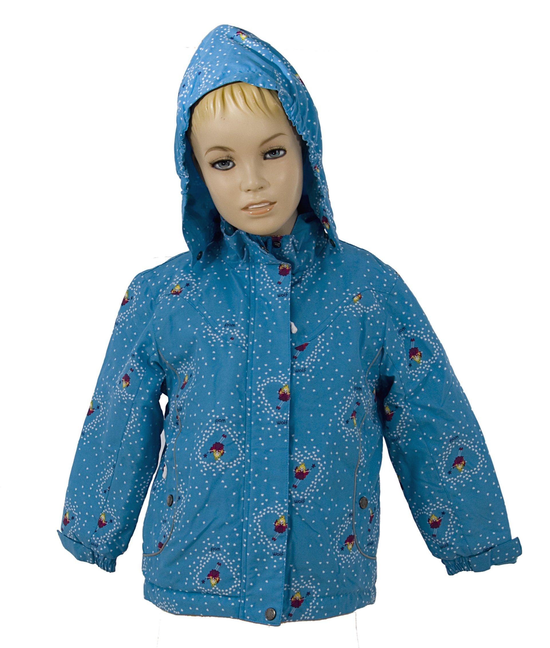 Bunda s fleece pod��vkou a kapuc� velikost 98-128 V�PRODEJ