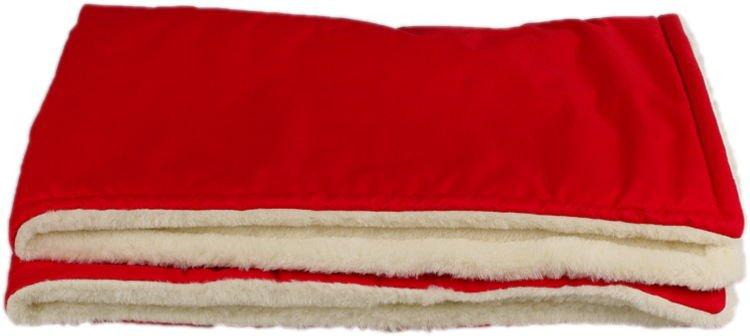�erven� zimn� deka merino