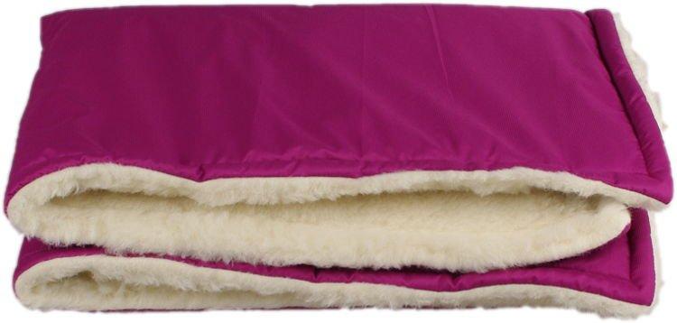 Fialov� zimn� deka merino