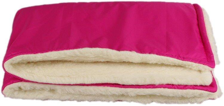 Ru�ov� zimn� deka merino