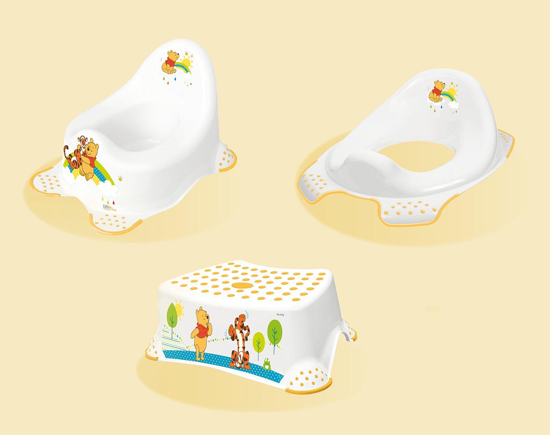 Hygienick� set Medved�k P� no�n�k + stoli�ka + redukcia biely