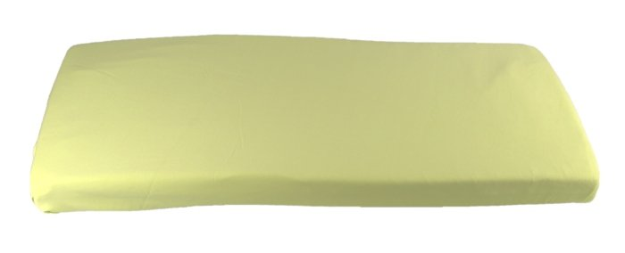 Zelen� plachta do kol�sky z biobavlny 41x90 cm