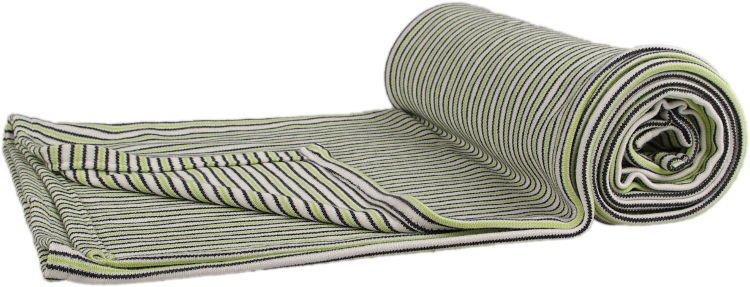 Deka �edo-zelen� pr��ok 100 x 140 cm