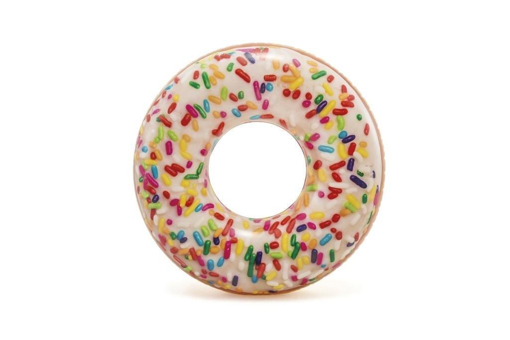 Nafukovacie koleso v tvare Donut farebn� 114cm
