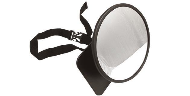 Zrkadlo pre pozorovanie det� v aute XL Beb� Due