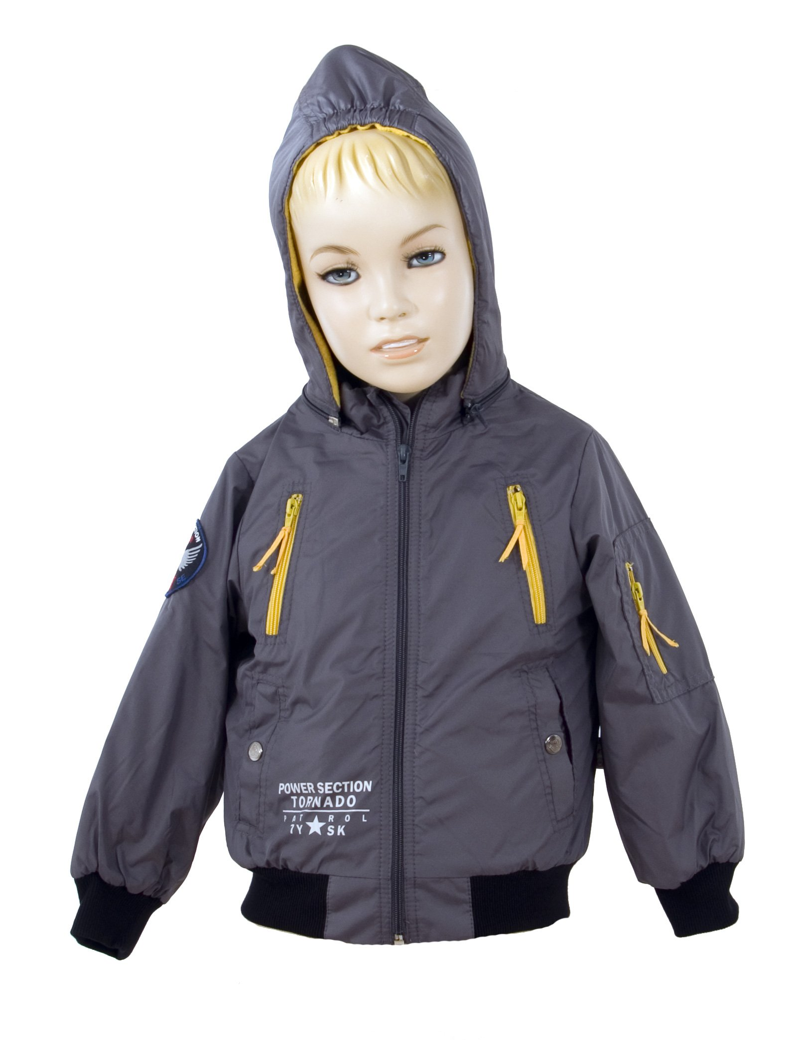 Chlapeck� bunda s kapuc� velikost 104-110 V�PRODEJ