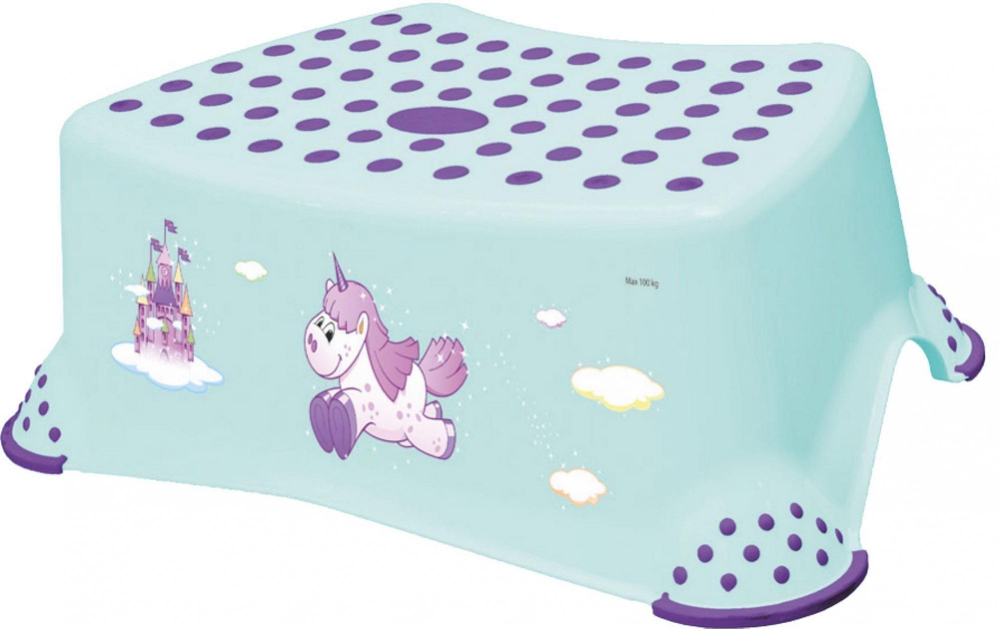 Protiskluzov� stoli�ka UNICORN lososov�