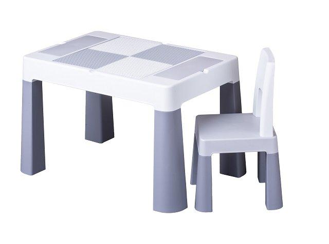 Detsk� sada stol�ek a stoli�ka Multifun siv�