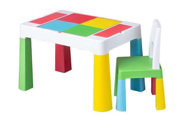 Detsk� sada stol�ek a stoli�ka Multifun multicolor