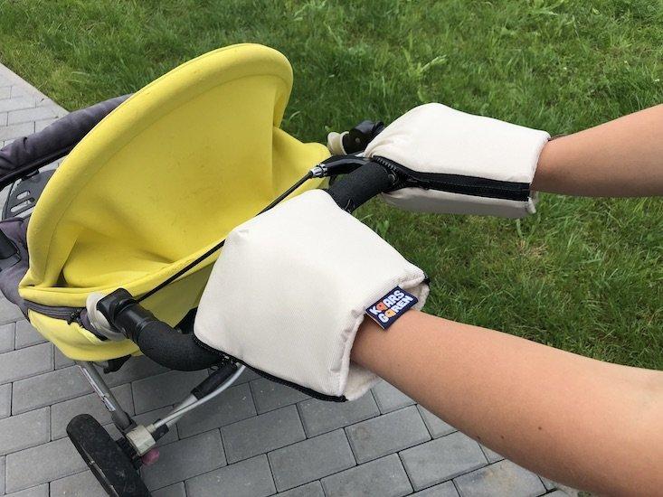 B�ov� rukavice na ko��rek biobavlna