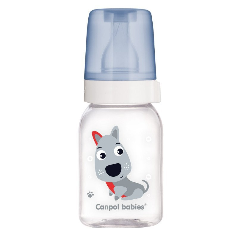 Lahev s potiskem CUTE ANIMALS 120 ml BPA 0%