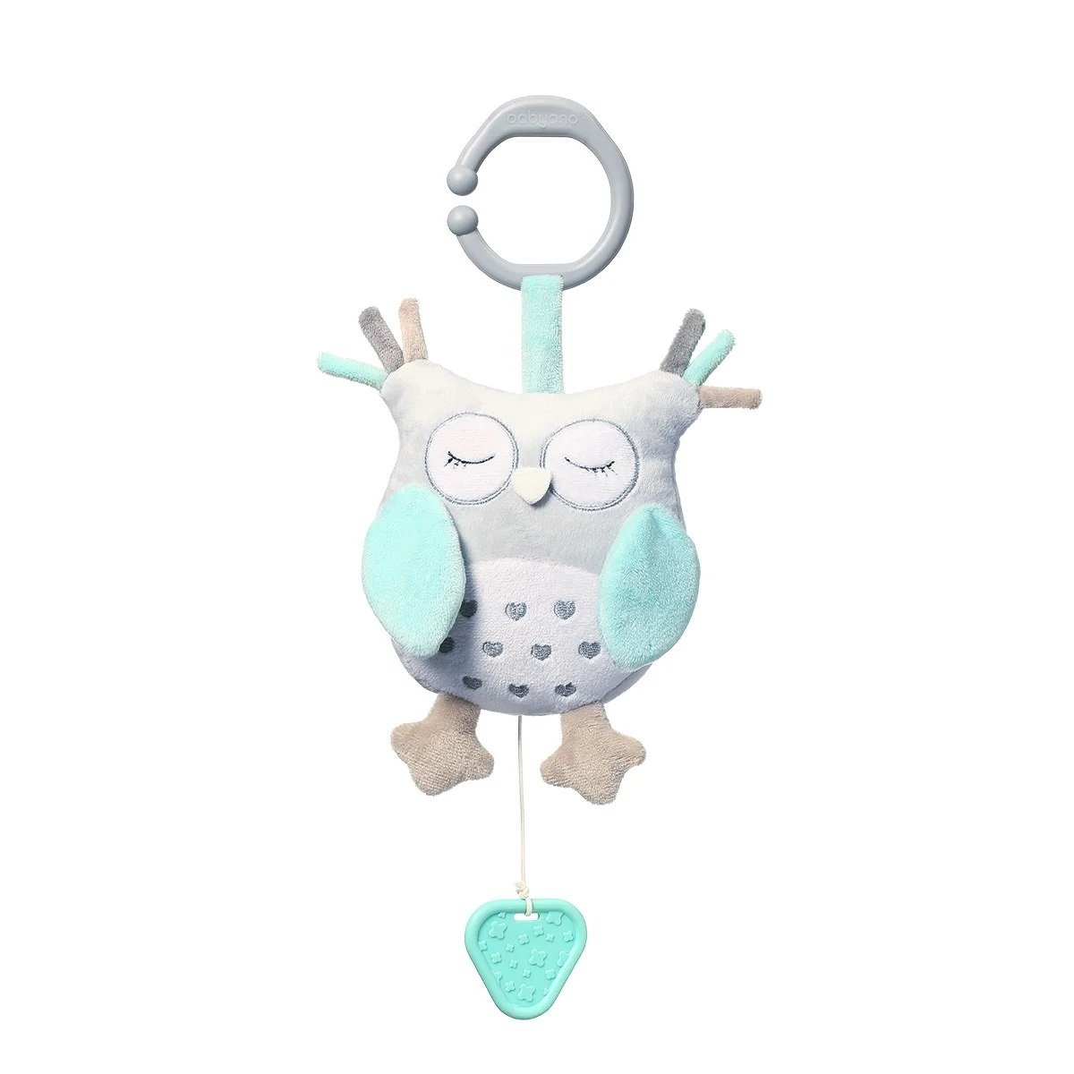 Ply�ov� hra�ka s klipom a vibr�ci� OWL SOPHIA