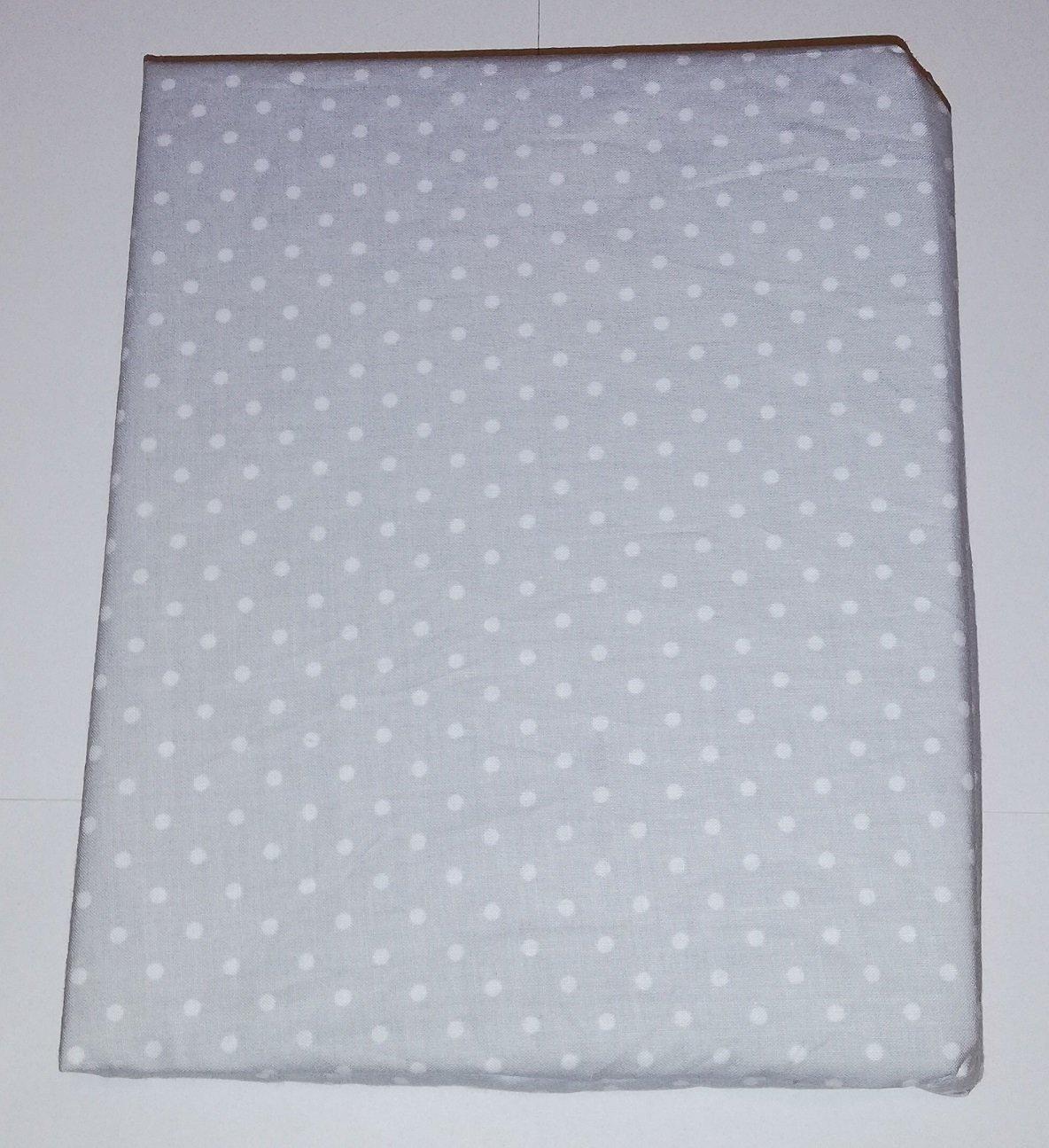 Bavln�n� prost�radlo 120x60 cm �ed� s b�l�mi v�t��mi punt�ky