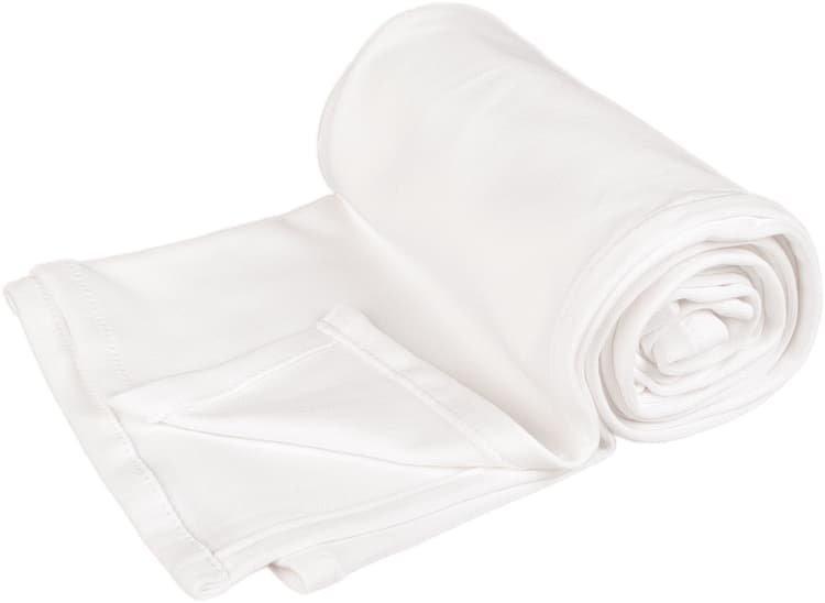 Letn� deka 70x100cm z bio-bavlny b�l�