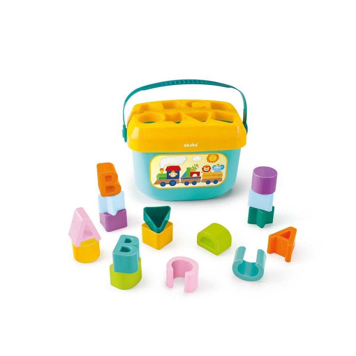 Eduka�n� hra�ka vkl�da�ka kybl�k p�smenka a tvary
