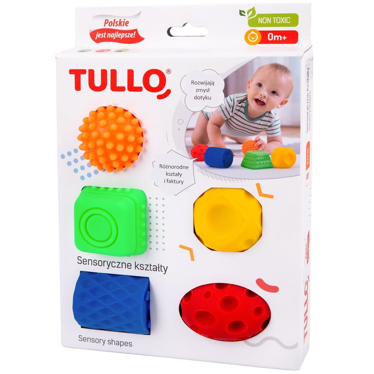 Senzorick� hra�ky tvary 5 ks