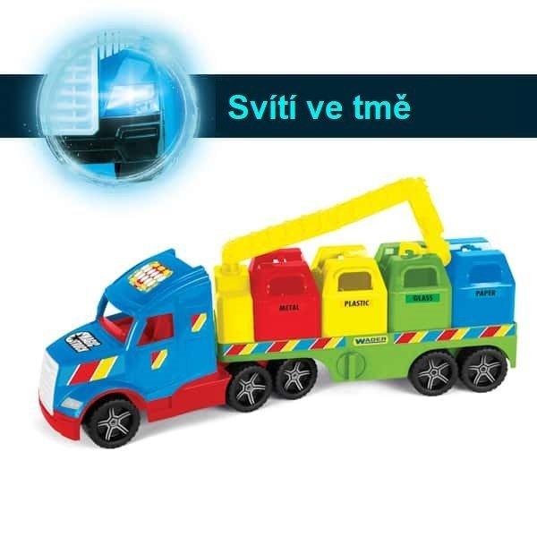 Magic Truck popel��sk� v�z s recyklov�n�m odpadu