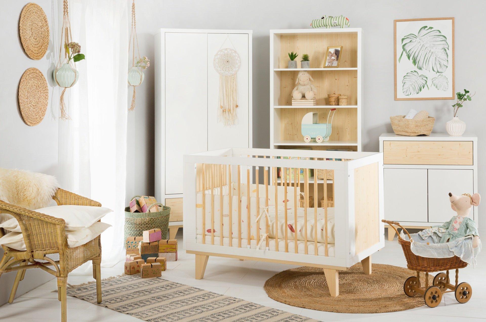 Detsk� izba L�dia s postie�kou 140x70 cm pr�rodn�-biela