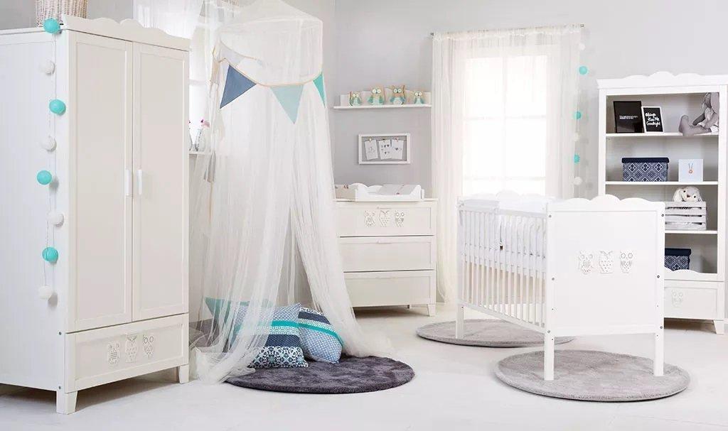 Detsk� izba Marsella s postie�kou 140x70 cm biely