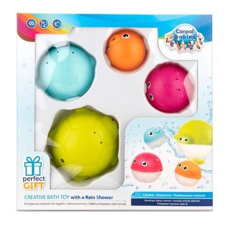 Sada kreativn�ch hra�ek do vody s de��ovou sprchou OCE�N 4ks