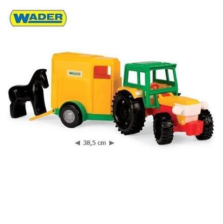 Traktor s vle�kou pro kon� 35001