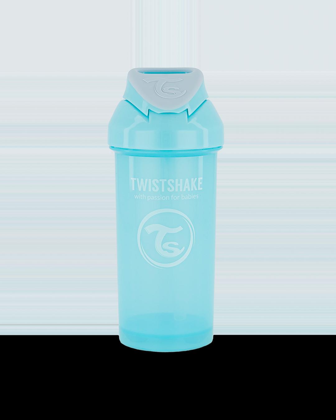 F�a�a so slamkou Straw Cup 360 ml 6+ Pastel modr�