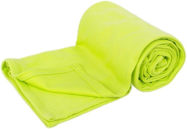 Letn� deka 150x200cm z bio-bavlny limetkov�