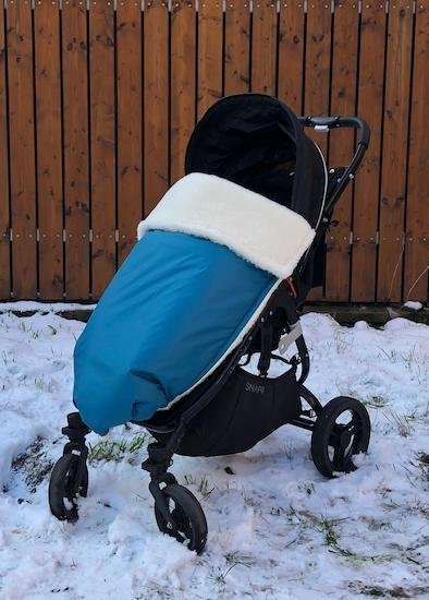 Zimn� deka merino nepadac� 70x100cm petrolejov�