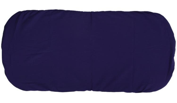 Bavln�n� prost�radlo do ko��rku 35x75 cm tmav� modr�