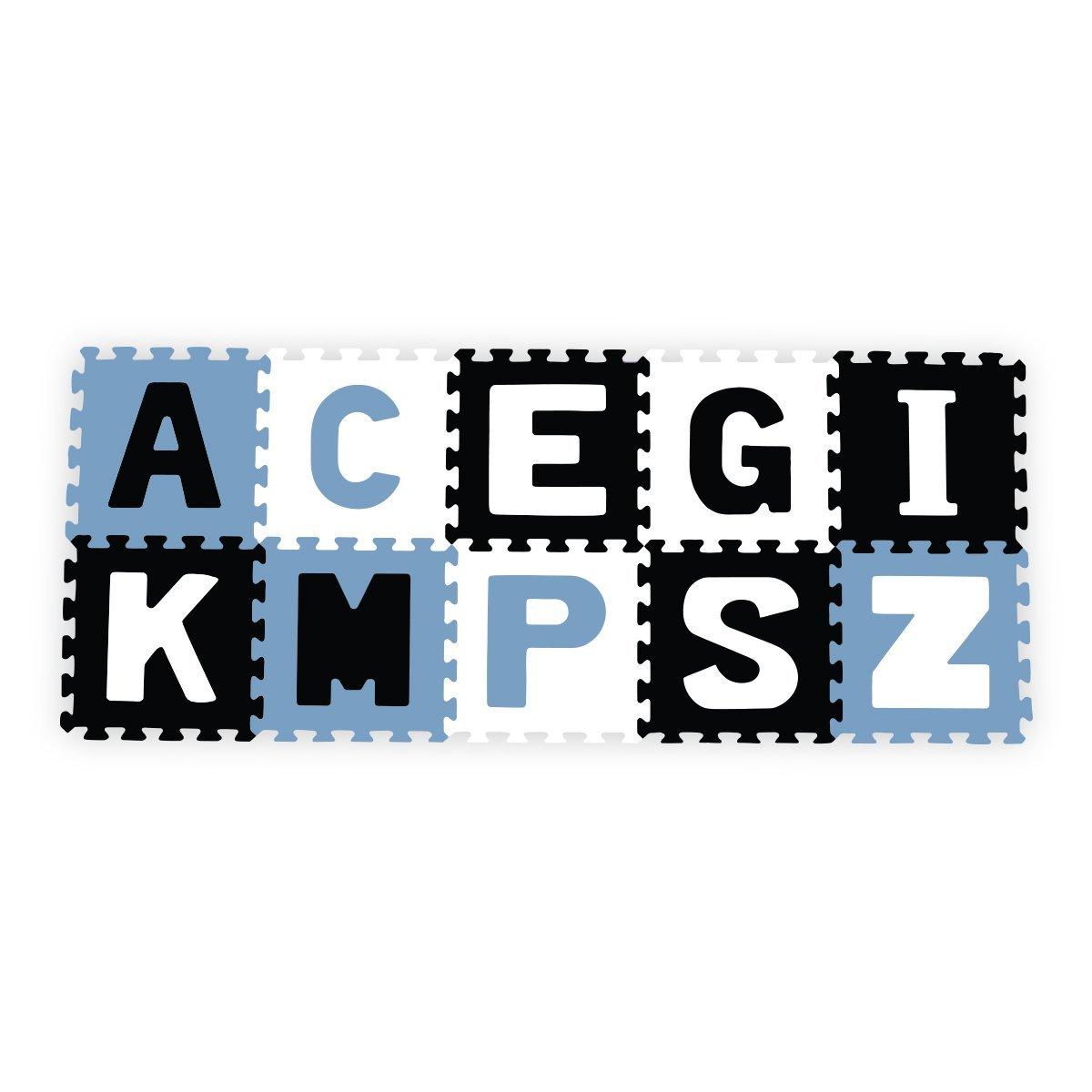 Penov� puzzle 30x30 cm 10 ks p�smen� farebn�