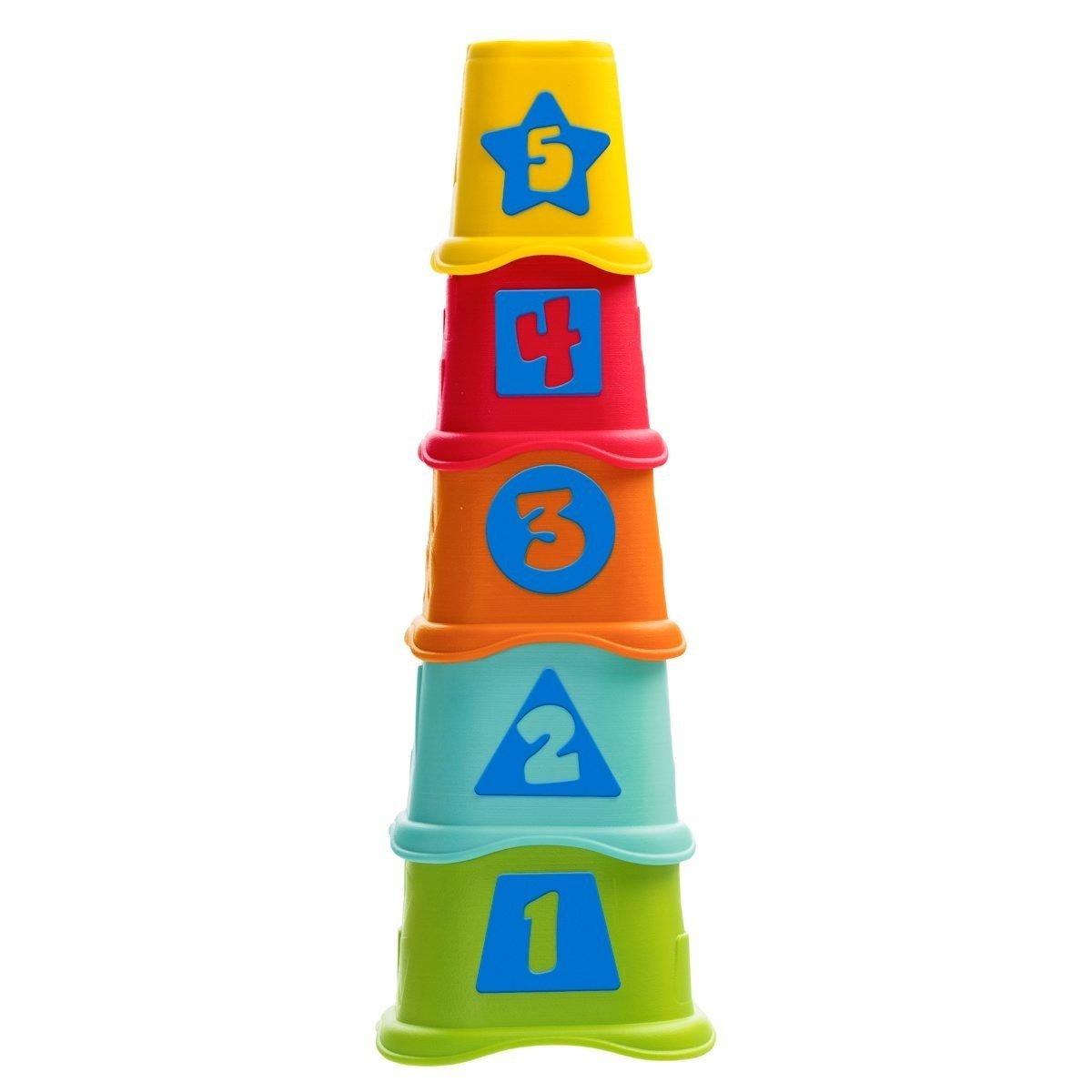 Pyramida stohovac� kel�mky 5 ks 2v1