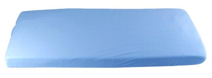 Modr� plachta bio-bavlna 70 x 160 cm