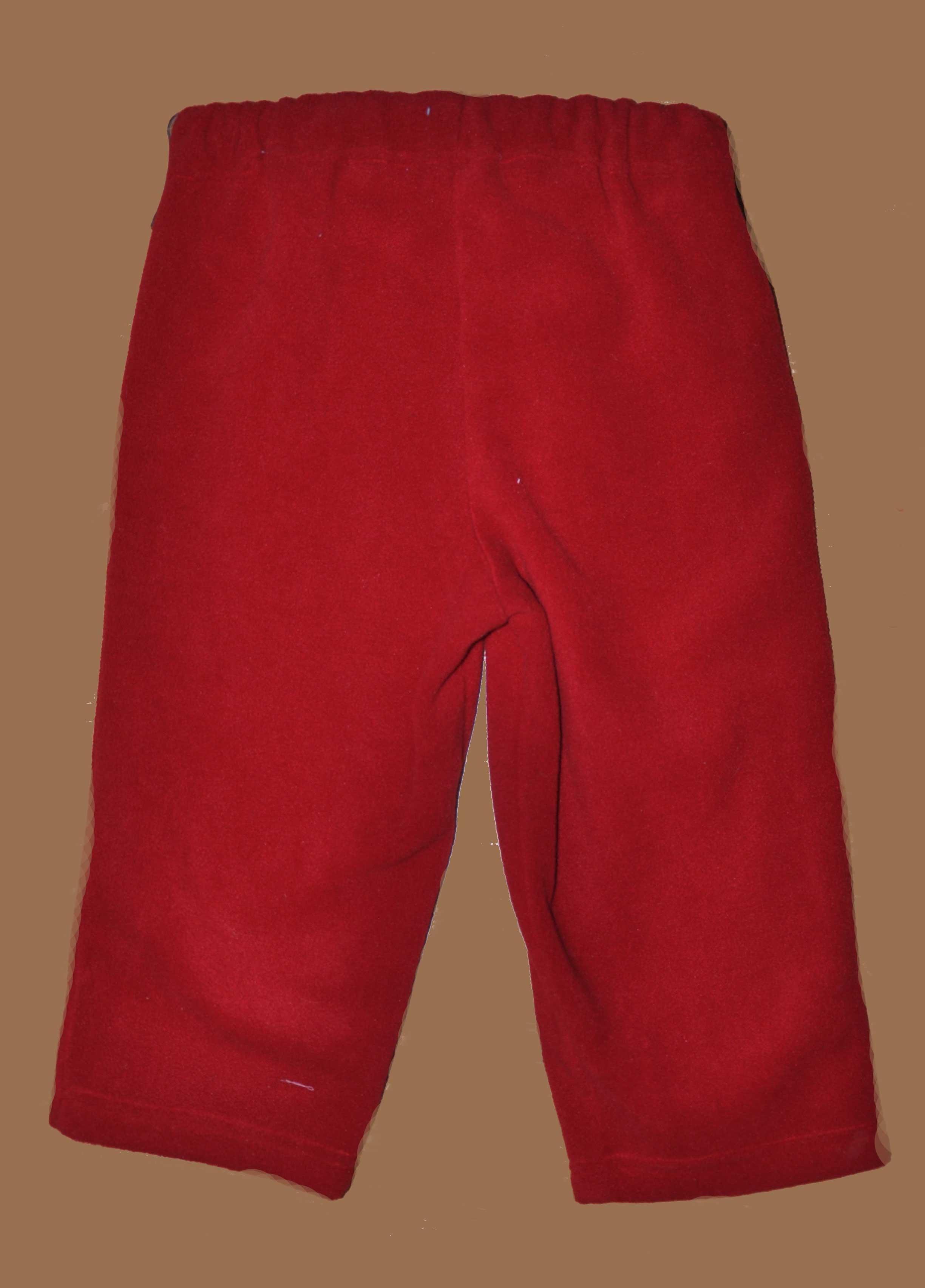 Fleecov� kalhoty do pasu vel. 86