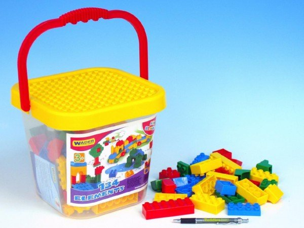 Kbel�k s plastov�mi kostkami mini 41340