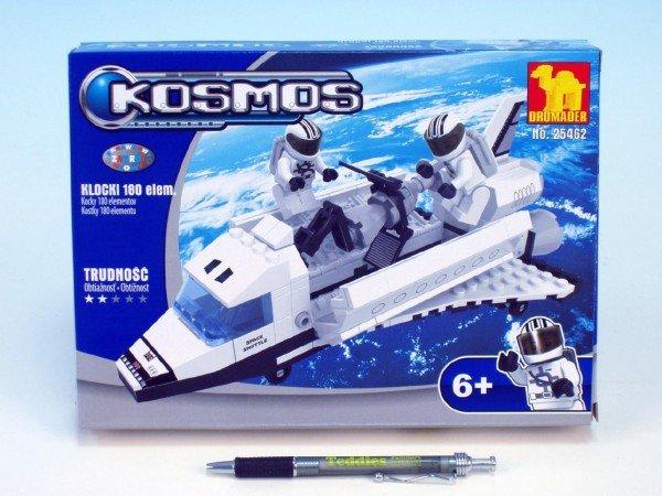Stavebnice Dromader Kosmick� Raketopl�n 25462 180ks v krabici 25