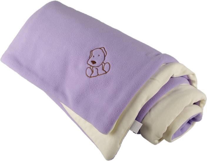Zateplen� detsk� deka fialovo smotanov� 70x100 cm - dopredaj