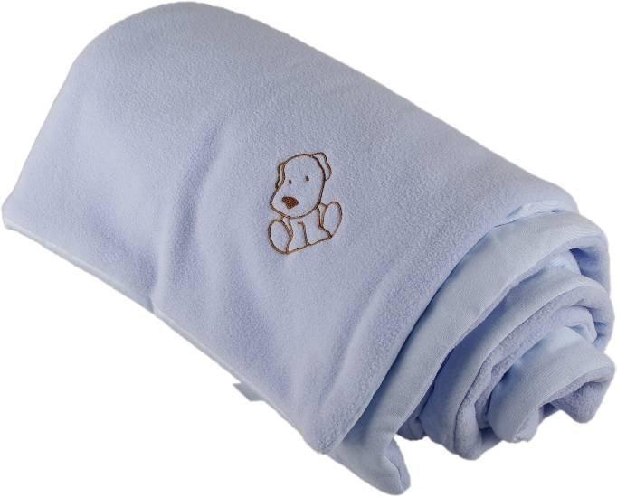 Zateplen� detsk� deka modr� 70x100 cm - dopredaj