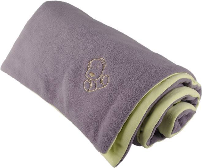 Zateplen� detsk� deka �edo zelen� 70x100 cm - dopredaj