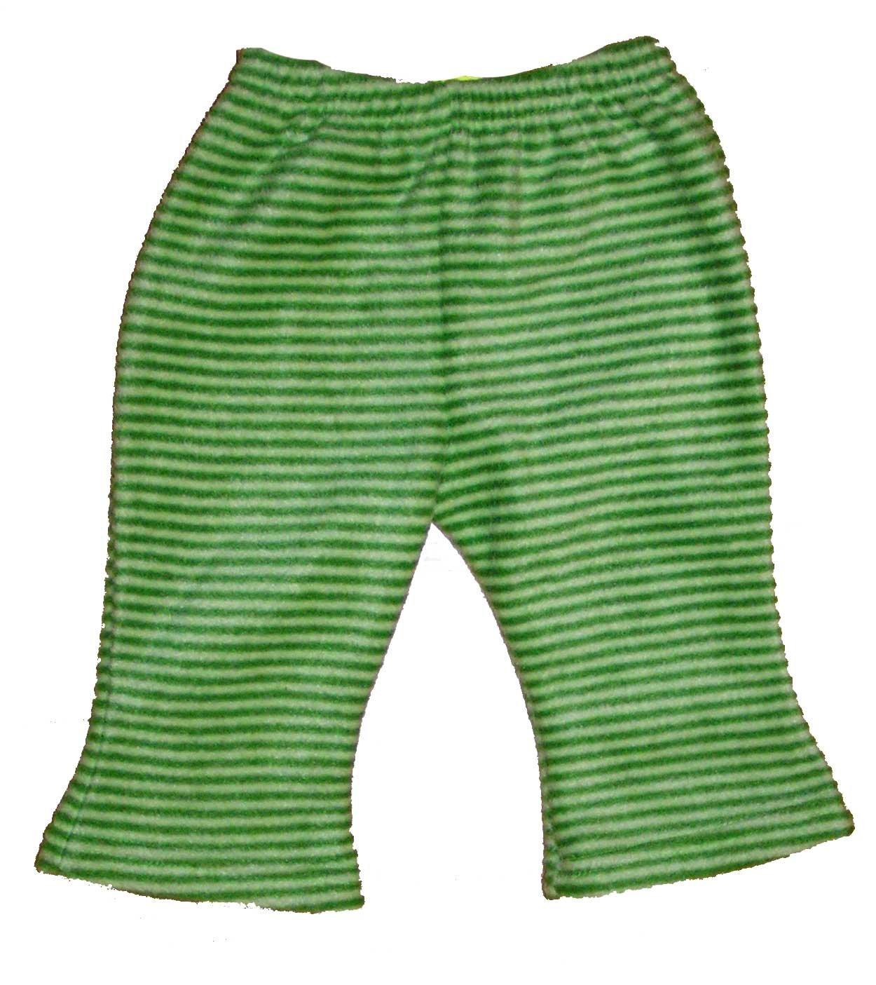 Doj�ensk� nohavice fleece 9m zelen�