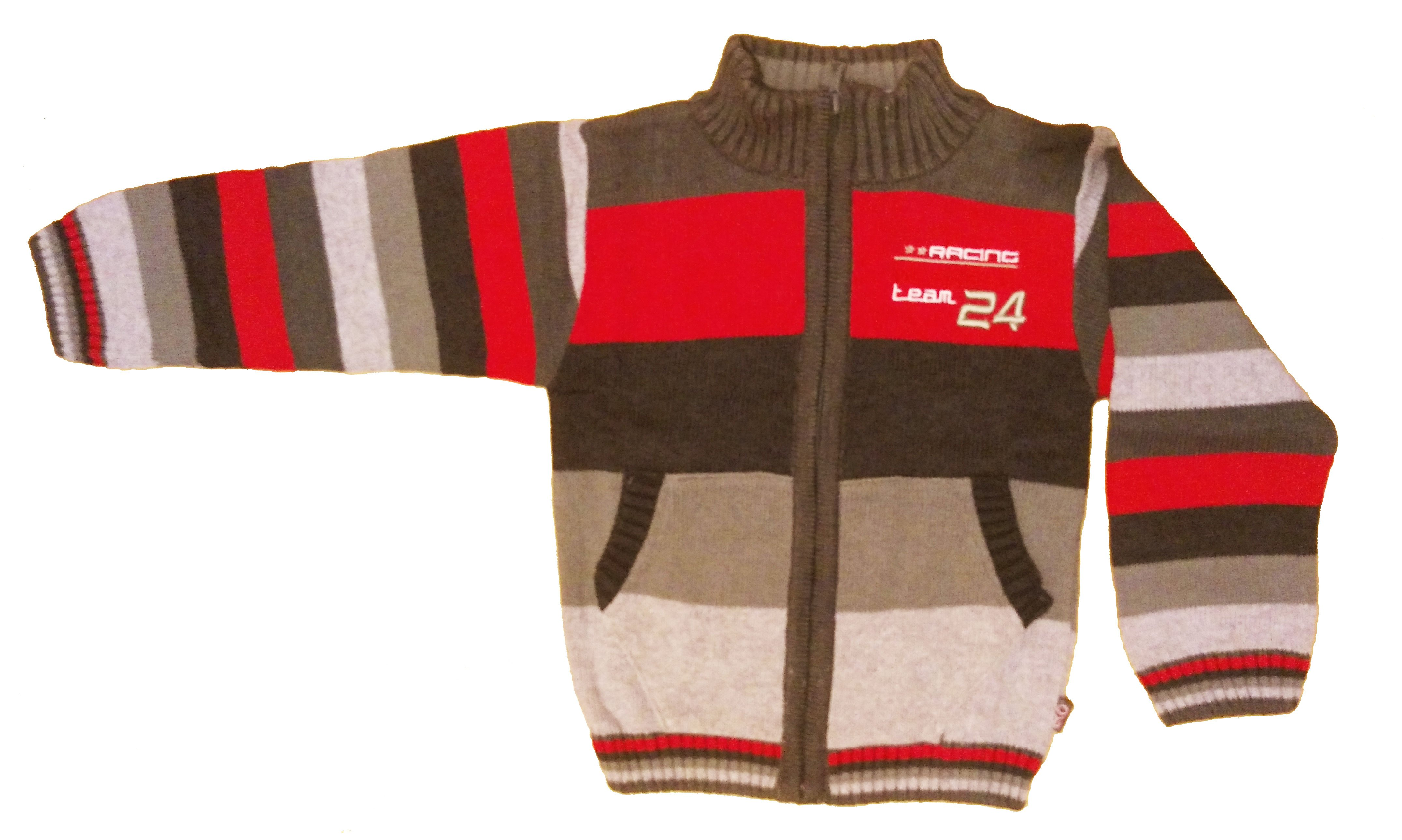 Chlap�ensk� pleten� sveter �erven� CH-287